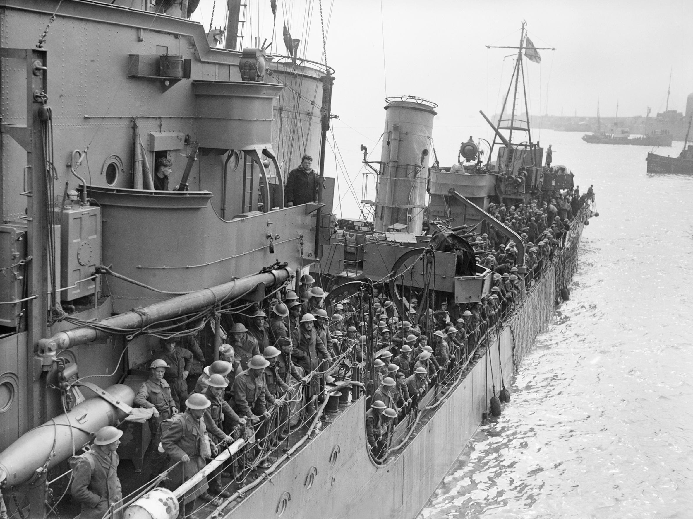 「【第二次世界大戦】ダンケルク、史上最大の撤退戦を分かりやすく解説」のアイキャッチ画像